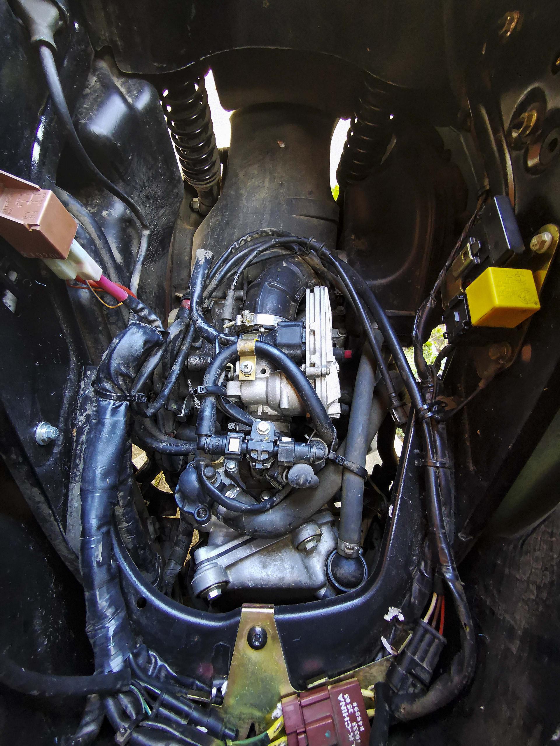 VESPA 250 GTS IE, 8. kép