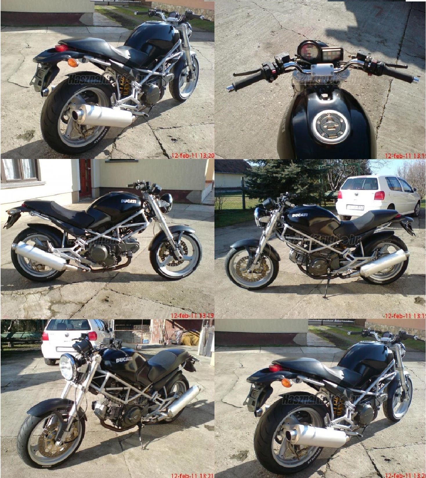 DUCATI MONSTER DARK 600, 8. kép