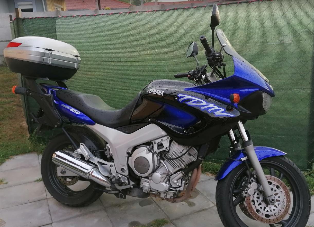 YAMAHA TDM850 4TX, 2. kép